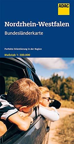 Nordrhein-Westfalen 1:300.000 9783826423291  ADAC Bundesländerkarten  Landkaarten en wegenkaarten Nordrhein-Westfalen