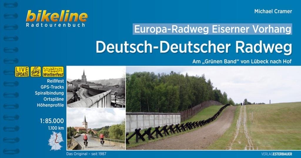 Bikeline Deutsch-Deutscher Radweg (Eiserner Vorhang 3) | fietsgids 9783850008723  Esterbauer Bikeline  Fietsgidsen, Meerdaagse fietsvakanties Duitsland