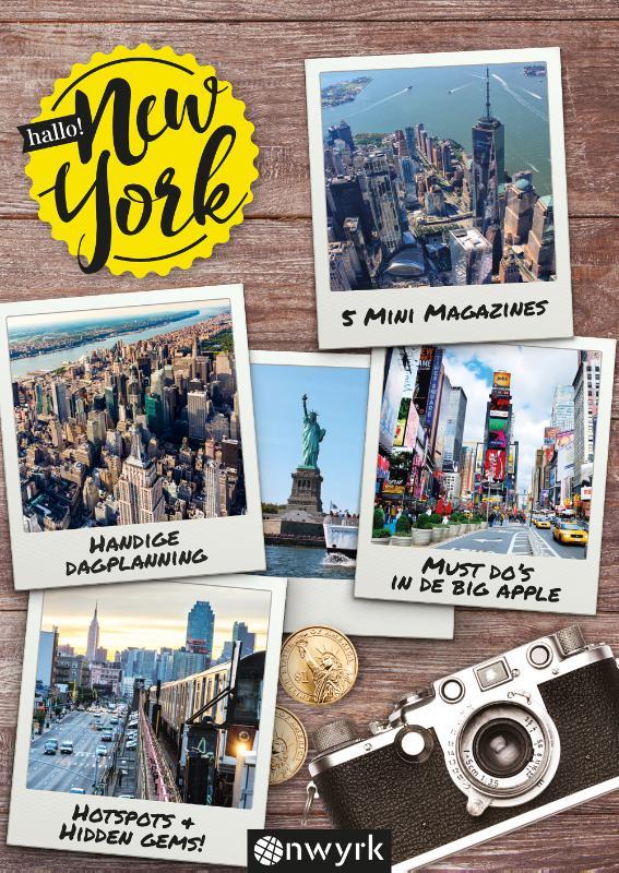 Hallo! New York 9789082622409 Sebastiaan Klijnen Veltman   Reisgidsen New York, Pennsylvania, Washington DC