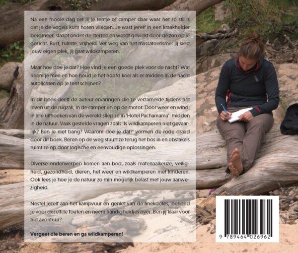 Ik Zag Twee Beren Wildkamperen | handboek van Lobke Dijkstra 9789464026962 Lobke Dijkstra Solob   Campinggidsen, Wandelgidsen Europa, Reisinformatie algemeen