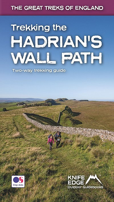 Trekking the Hadrian's Wall Path | wandelgids 9781912933075  Knife Edge   Meerdaagse wandelroutes, Wandelgidsen Noordoost-Engeland