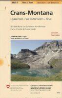 3305T Crans-Montana 9783302333052  Bundesamt / Swisstopo Wanderkarten 1:33.333  Wandelkaarten Wallis