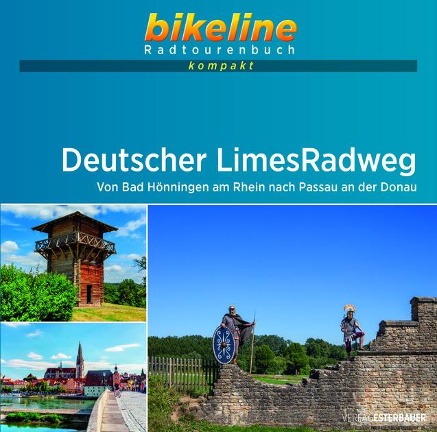 Bikeline Deutscher Limes-Radweg 1 | fietsgids 9783850008235  Esterbauer Bikeline - Mini  Fietsgidsen, Meerdaagse fietsvakanties Duitsland
