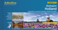 Bikeline Holland, Radatlas | fietsgids 9783850009263 Noord- en Zuid-Holland, Zeeland Esterbauer Bikeline  Fietsgidsen West Nederland