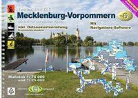 TourenAtlas TA6 Mecklenburg-Vorpommern | kanogids 9783929540727  DKV/Jübermann   Watersportboeken Mecklenburg-Vorpommern