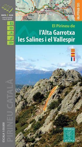l'Alta Garrotxa | wandelkaart 1:50.000 9788480907996  Editorial Alpina Wandelkaarten Spaanse Pyreneeë  Wandelkaarten Franse Pyreneeën, Spaanse Pyreneeën