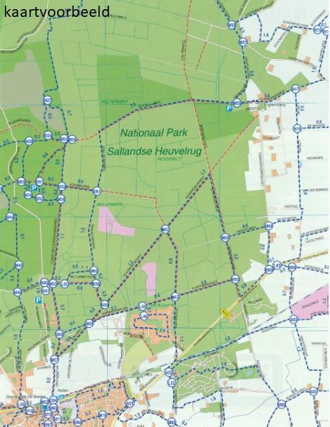 Wandelatlas Nederland - Wandelkaarten van 21 Nationale parken 9789028703940  Falk   Wandelgidsen, Wandelkaarten Nederland