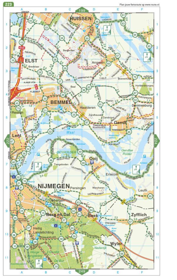 Fietsatlas Nederland,  1/75.000 ed. 2021 9789028703988  Falk meerdaagse fietsroutes (NL)  Fietsgidsen, Fietskaarten, Meerdaagse fietsvakanties Nederland