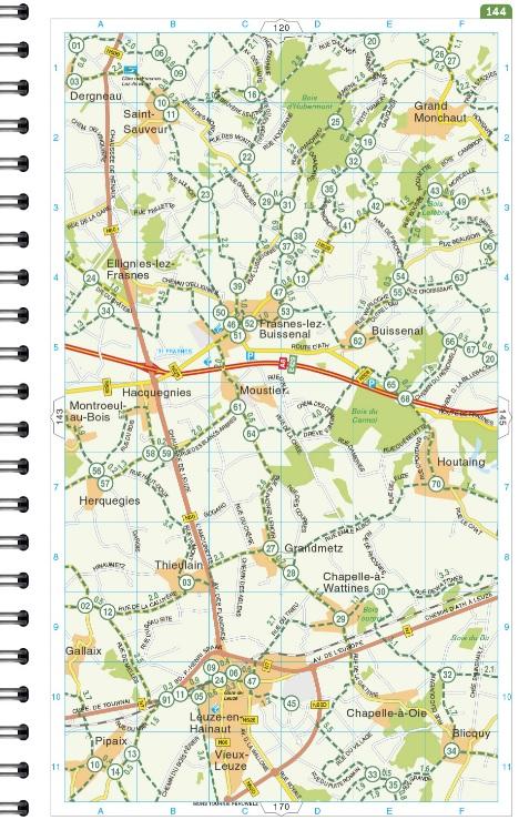 Routiq Fietsatlas België 9789028703995  Falk   Fietsgidsen, Meerdaagse fietsvakanties Vlaanderen
