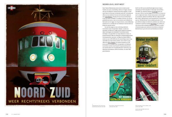 150 jaar Nederlandse Spoorwegaffiches 9789068688306 Arjen den Boer Thoth   Historische reisgidsen, Landeninformatie Europa