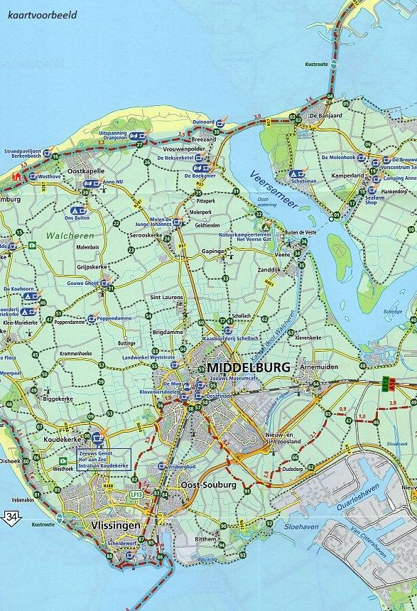 Basiskaart Netwerk LF-routes (ed 2021) 9789072930729 Landelijk Fietsplatform Buijten & Schipperheijn meerdaagse fietsroutes (NL)  Fietskaarten, Meerdaagse fietsvakanties Nederland