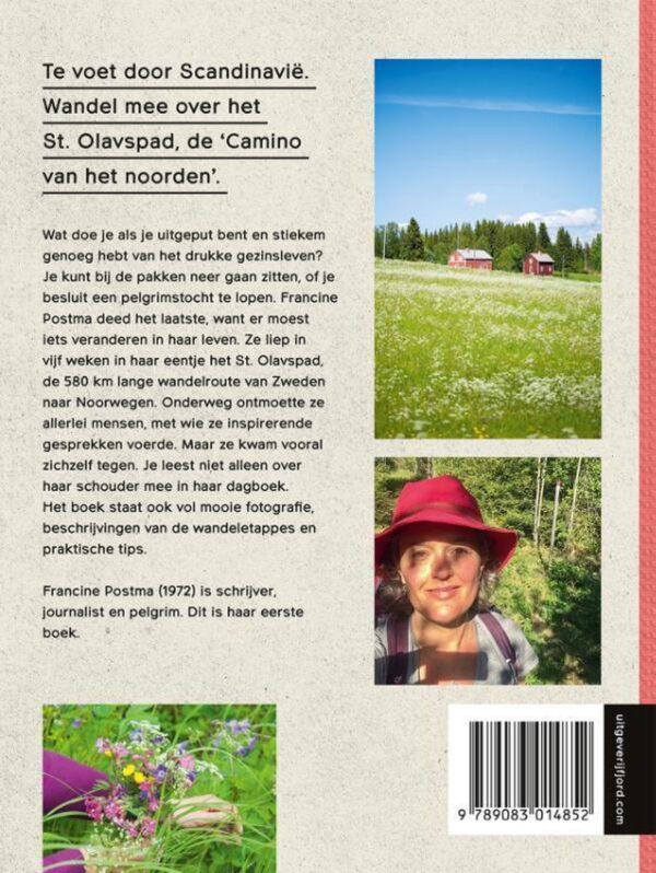 Onderweg   Alleen over het Olavspad (wandelreisverhaal) 9789083014852 Francine Postma Mo'Media Fjord  Reisverhalen, Wandelgidsen Noorwegen, Zweden