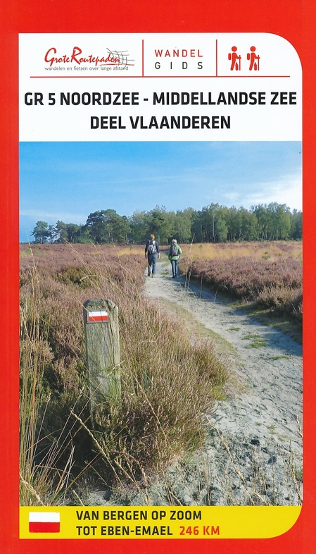 GR-5 | Noordzee – Middellandse Zee, wandelgids GR 5 deel Vlaanderen 9789492608116  Grote Routepaden Topogidsen  Meerdaagse wandelroutes, Wandelgidsen Antwerpen & oostelijk Vlaanderen