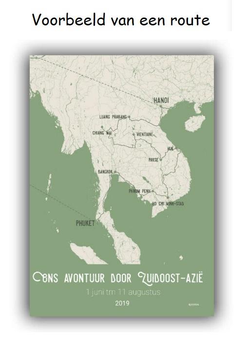 Maak je eigen reisposter: Zuidoost-Azië RP-ZOA denoorderzon.reisposter.nl De Noorderzon Reisposter   Reisgidsen, Wandkaarten Zuid-Oost Azië