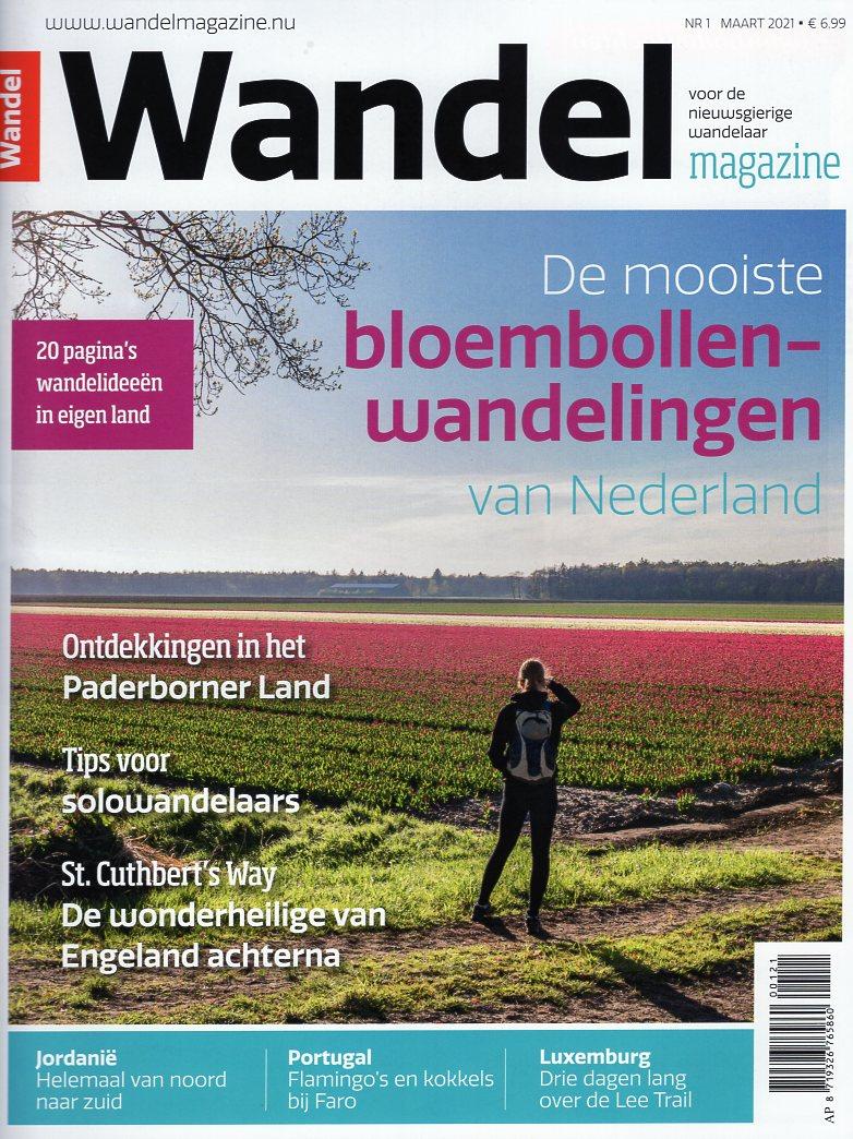 Wandelmagazine Maart 2021 WM2021A  Virtu Media Tijdschriften  Wandelreisverhalen Reisinformatie algemeen