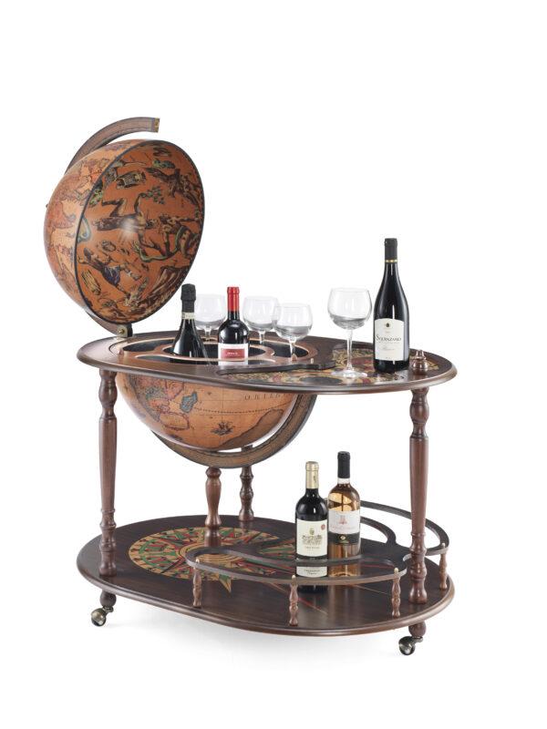 Vivalto bar globe 42 Ivory 617503103376  Zoffoli Globe Bar & Desk  Globes Wereld als geheel
