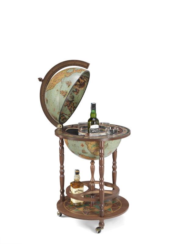 Minerva bar globe 40 Blue 617503103512  Zoffoli Globe Bar & Desk  Globes Wereld als geheel