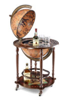Trolley Bar Globe: Artemide bar globe 50 Classic 617503103536  Zoffoli Globe Bar & Desk  Globes Wereld als geheel