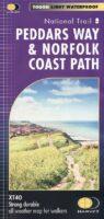 Peddars Way & Norfolk Coast Path   wandelkaart 1:40.000 9781851376292  Harvey Maps   Meerdaagse wandelroutes, Wandelkaarten Lincolnshire, Norfolk, Suffolk, Cambridge
