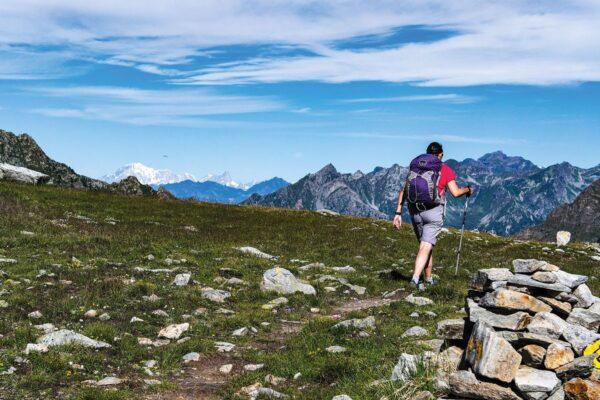 Trekking the Giants Trail   wandelgids 9781852849924 Andy Hodges Cicerone Press   Meerdaagse wandelroutes, Wandelgidsen Aosta, Gran Paradiso, Turijn, Piemonte