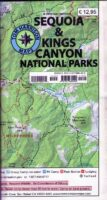 Sequoia & Kings Canyon National Parks | wandelkaart 1:126.720 9781877689499  Tom Harrison Maps   Wandelkaarten California, Nevada