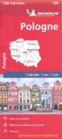 720  Polen 1:700.000 9782067171534  Michelin   Landkaarten en wegenkaarten Polen