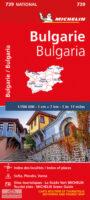 739  Bulgarije 1:700.000 9782067173767  Michelin Michelin 1:750.000  Landkaarten en wegenkaarten Bulgarije