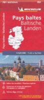 781 Baltische Staten 1:500.000 9782067173774  Michelin Michelin 1:500.000  Landkaarten en wegenkaarten Baltische Staten en Kaliningrad