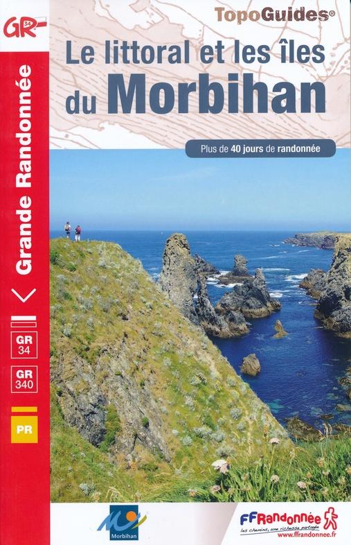 TG-561 Morbihan, Littoral et Îles   wandelgids GR-34 9782751410758  FFRP Topoguides á Grande  Wandelgidsen Bretagne