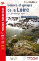 TG-3000 Source et Gorges de la Loire | wandelgids GR-3/GR-302 9782751411205  FFRP topoguides à grande randonnée  Meerdaagse wandelroutes, Wandelgidsen Auvergne, Lyon en omgeving