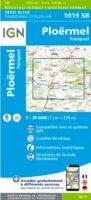 SB-1019SB Ploërmel / Paimpont | wandelkaart 1:25.000 9782758535249  IGN IGN 25 Bretagne  Wandelkaarten Bretagne