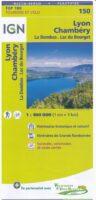 SV-150  Lyon, Villefranche-sur-Saône | omgevingskaart / fietskaart 1:100.000 9782758540847  IGN Série Verte 1:100.000  Fietskaarten, Landkaarten en wegenkaarten Lyon en omgeving
