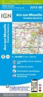 SB-3313SB  Ars-sur-Moselle, Chambely-Bussières 1:25.000 9782758544692  IGN IGN 25 Lotharingen  Wandelkaarten Lotharingen, Nancy, Metz