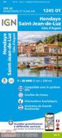 1245OT St-Jean-de-Luz, Hendaye | wandelkaart 1:25.000 9782758551393  IGN IGN 25 Franse Pyreneeën  Wandelkaarten Baskenland