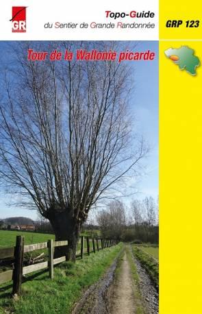 GR-123 Tour de la Wallonie Picarde (GRP) 9782931078020  Grote Routepaden Topoguides  Meerdaagse wandelroutes, Wandelgidsen Wallonië (Ardennen)