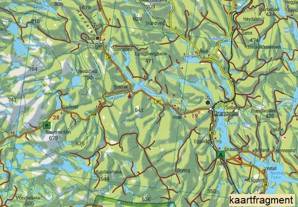FBN1 Zuid-Noorwegen | autokaart, wegenkaart 1:250.000 9783707903164  Freytag & Berndt FBN Veikart  Landkaarten en wegenkaarten Zuid-Noorwegen