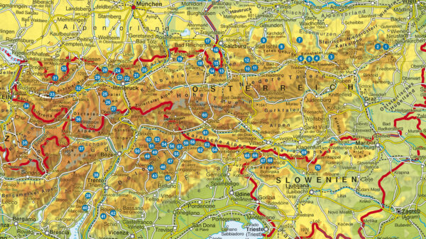 Alpine Klettersteige Ostalpen   Rother Selection 9783763330669 Mark Zahel Bergverlag Rother Rother Selection  Klimmen-bergsport Oostenrijk