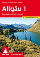 wandelgids Allgäu 1 (Oberallgäu & Kleinwalsertal) Rother Wanderführer 9783763345724  Bergverlag Rother RWG  Wandelgidsen Beierse Alpen