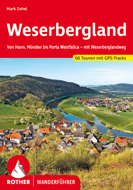 Rother wandelgids Weserbergland | Rother Wanderführer 9783763345731  Bergverlag Rother RWG  Wandelgidsen Lüneburger Heide, Hannover, Weserbergland