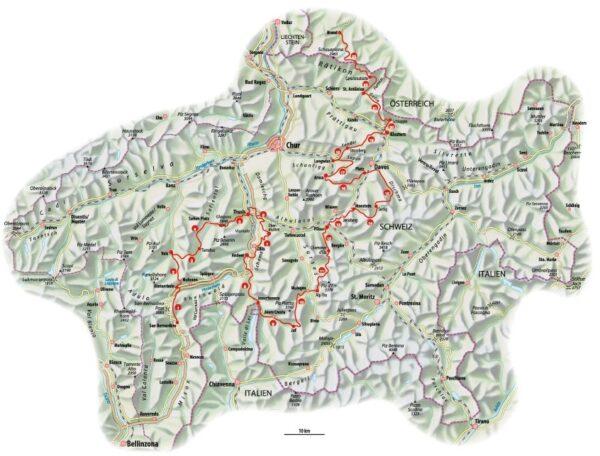 Walserweg Graubünden 9783858698995  Rotpunkt Verlag, Zürich   Meerdaagse wandelroutes, Wandelgidsen Graubünden, Tessin