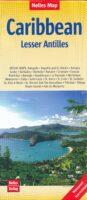 Caribbean Islands 2: Lesser Antilles | wegenkaart - overzichtskaart 9783865743268  Nelles Nelles Maps  Landkaarten en wegenkaarten Caribisch Gebied