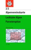 AV-03/3 Lechtaler Alpen Parseier Spitze [2015] Alpenvereinskarte wandelkaart 9783928777179  AlpenVerein Alpenvereinskarten  Wandelkaarten Tirol & Vorarlberg