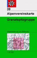 wandelkaart AV-39  Granatspitzgruppe [2013] Alpenverein 9783928777759  AlpenVerein Alpenvereinskarten  Wandelkaarten Osttirol