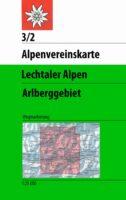 AV-03/2 Lechtaler Alpen Arlberggebiet [2019] Alpenvereinskarte wandelkaart 9783937530918  AlpenVerein Alpenvereinskarten  Wandelkaarten Tirol & Vorarlberg