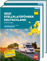 ADAC Stellplatzführer Deutschland/Europa 2021 9783956899171  ADAC   Campinggidsen, Op reis met je camper Europa