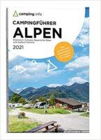 Campingführer Rund um die Alpen 2021 9783982088068  Camping.Info   Campinggidsen Zwitserland en Oostenrijk (en Alpen als geheel)