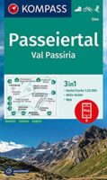 KP-044 Passeiertal, Val Passiria | Kompass wandelkaart 1:25.000 9783990449363  Kompass Wandelkaarten Kompass Italië  Wandelkaarten Zuid-Tirol, Dolomieten