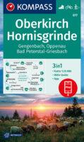 KP-877 Oberkirch, Hornisgrinde 1:25.000 | Kompass 9783991210603  Kompass Wandelkaarten Kompass Duitsland  Wandelkaarten Zwarte Woud