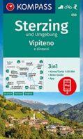 KP-058  Sterzing/Vipiteno 1:25.000 | Kompass wandelkaart 9783991211198  Kompass Wandelkaarten Kompass Italië  Wandelkaarten Zuid-Tirol, Dolomieten