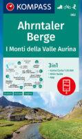 KP-082 Ahrntaler Berge | Kompass wandelkaart  1:25.000 9783991211532  Kompass Wandelkaarten Kompass Italië  Wandelkaarten Zuid-Tirol, Dolomieten